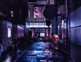 photo of alleyway